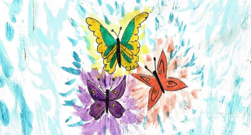 Metamorfose, Ilustração em aquarela by Vivian Blaso